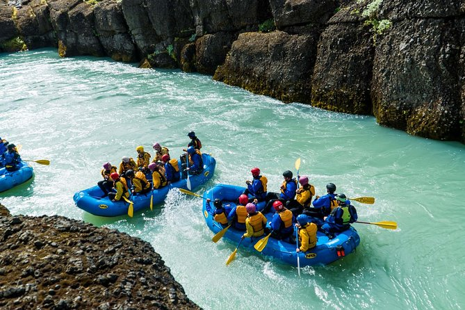 Gulfoss Canyon White Water Rafting and Beer Tasting
