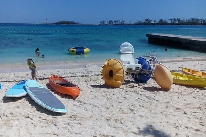 Bahama Kayak Full Day Water Sports Package at Junkanoo Beach