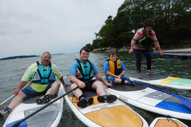 Private Stand Up Paddleboard Tour in Casco Bay