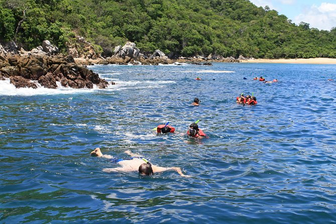 Walk And Snorkel In The National Park HT