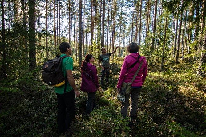 We will do several guided forest walks