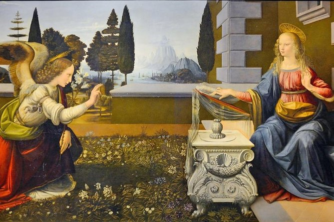 Uffizi Museum & Renaissance Masters Treasure Hunt for Kids with Leonardo's Works