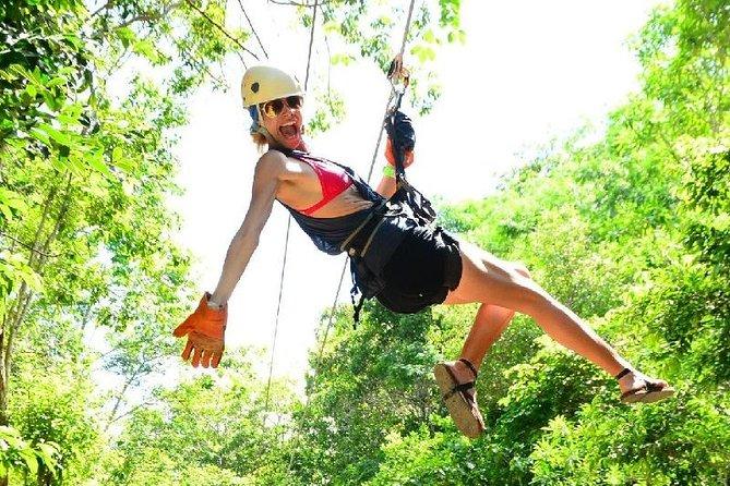 Canopy Zipline Excursion & Beach