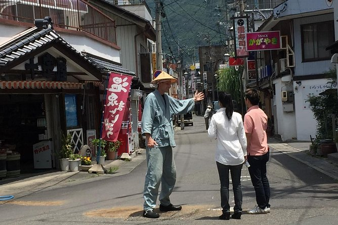 Onsen Town Walking Tour in Nagano