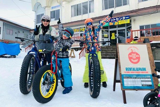Nagano a Brand-New Snow Bike Activity, Yuki Chari