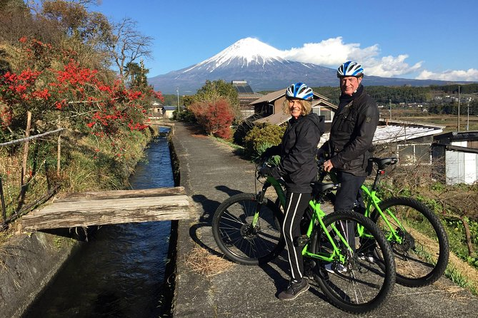 Mt Fuji Satoyama Village Cycling Ecotour (Dec-Feb)