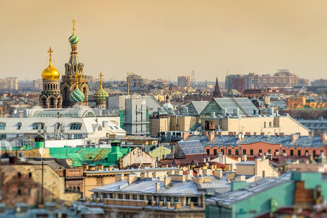 St.Petersburg Sightseeing City tour with Peter and Paul Fortress
