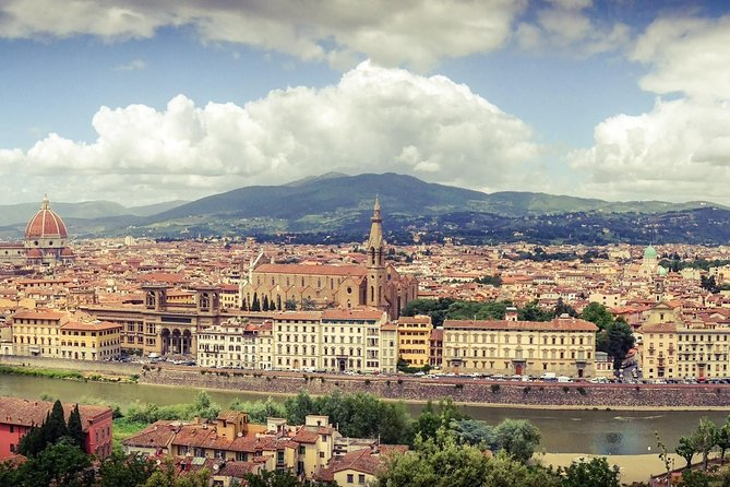 Private Florence and Hills Day Tour with Accademia, Uffizi and Historic Center