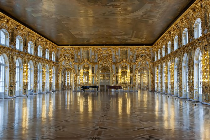 St. Petersburg Catherine Palace and Amber Room Guided tour
