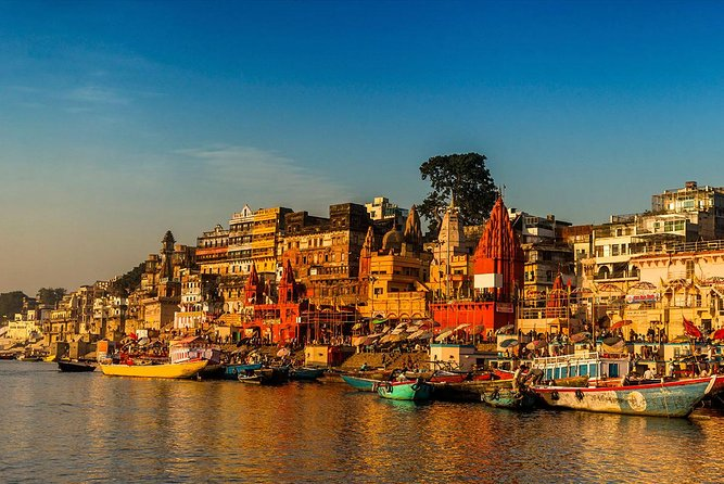 Varanasi Full-day Tour with Guide & Boat Ride