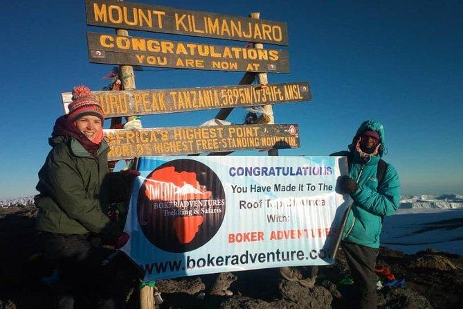Kilimanjaro Climbing - 7 Days Machame