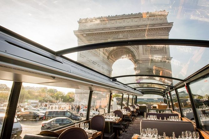 Paris City Tour and Lunch by Luxury Bus