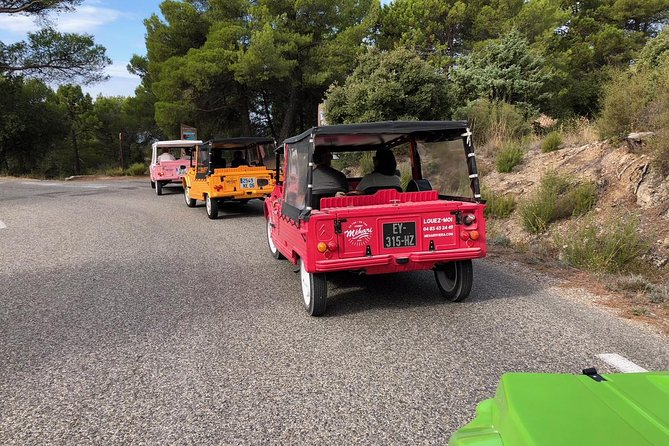Private excursion from Nice of the Esterel Massif in Citroen Mehari