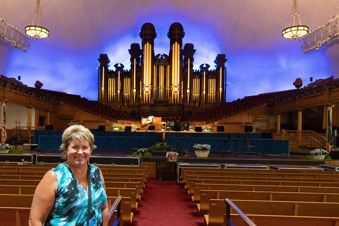 Salt Lake City Bus Tour met 30 minuten durend orgelrecital in de Tabernacle