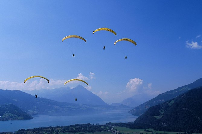 Interlaken and Paragliding Experience from Lausanne