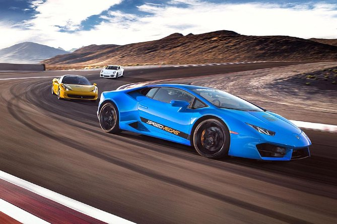 Italian Faceoff - 10 Lap Supercar Driving Experience On Real Racetrack in Vegas