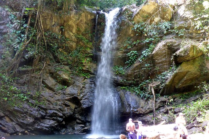 Avocat Waterfall Tour & Beach Stop Package