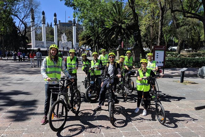 Mexico City Highlights E-Bike Tour With Foodie Stops