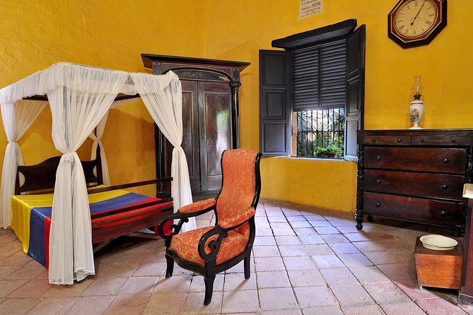 Quinta de San Pedro Alejandrino: Dreams of Freedom. The steps of Simón Bolívar
