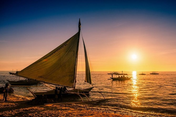 Boracay Paraw Sailing Sunset