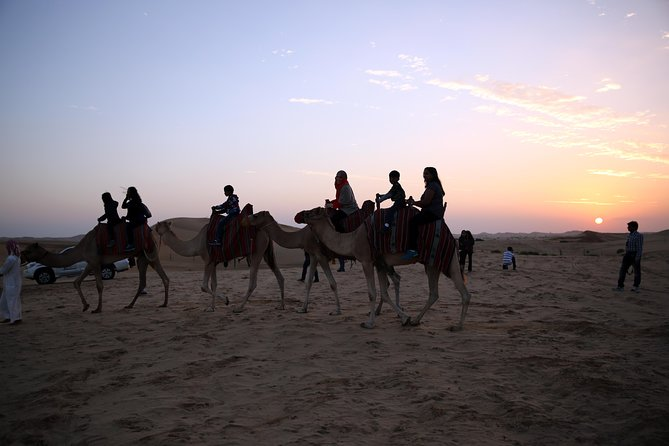 Overnight Desert Safari with BBQ Dinner & Breakfast