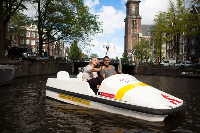 Pedal Boat Amsterdam - off the beaten track!
