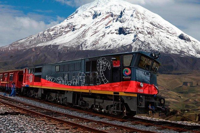 Excursão de 2 dias pelos Andes saindo de Quito com passeio de trem pela Avenida dos Vulcões