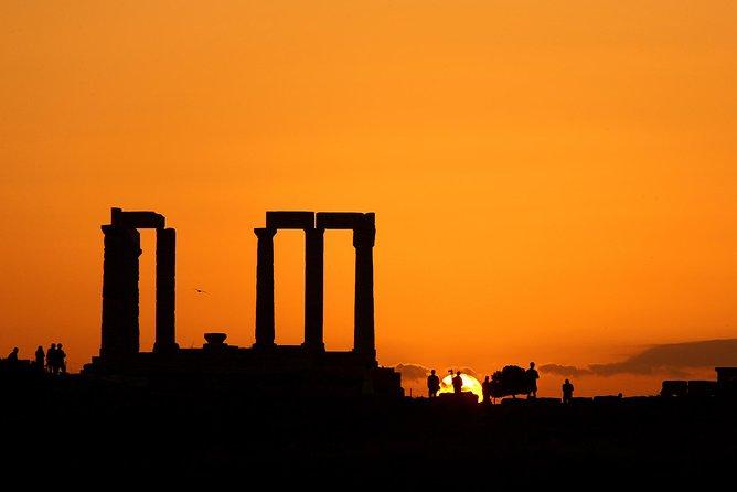 Athens: Sunset Trip to Cape Sounio & Temple of Poseidon (fixed price per person)