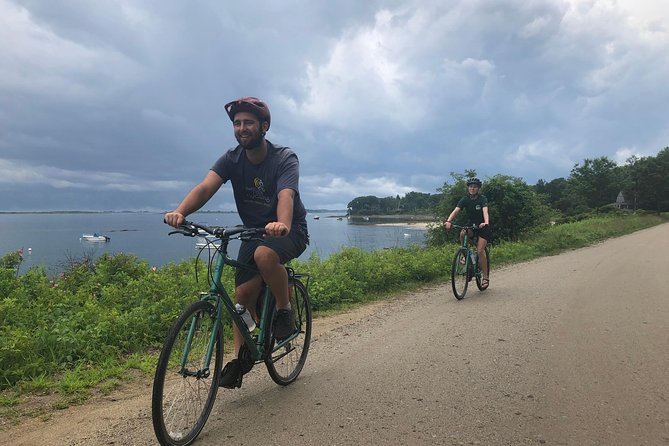 Pedaling Around the Island