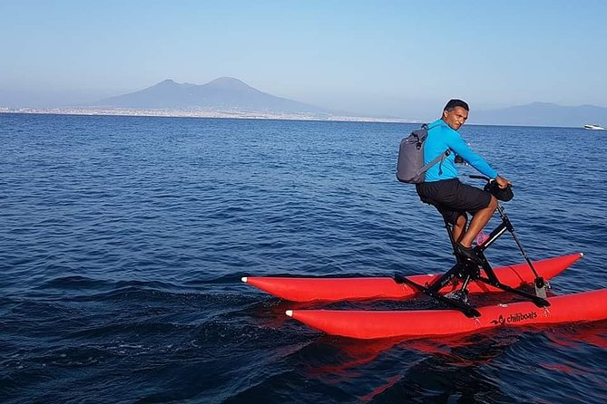 Naples coastline on a water bike photo 8