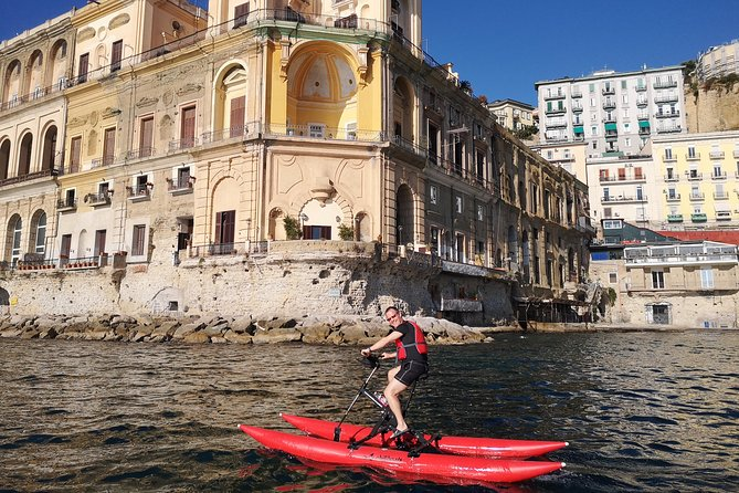 Naples coastline on a water bike photo 18