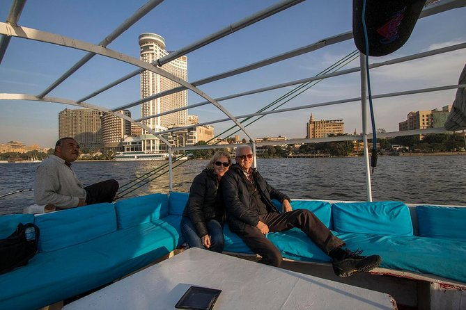 Private Guided Night Tour of Cairo including Felucca ride and dinner photo 7
