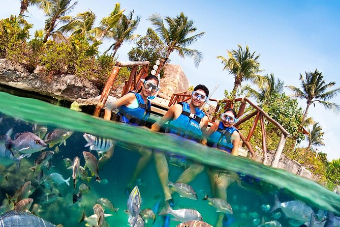 Two Day Combo to Tulum by Land & Sea with snorkel & Xel Ha