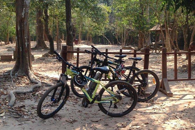 Angkor Wat, Angkor Thom Ancient Capital, Ta Promh & Temple Sunset - Biking
