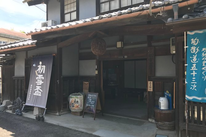Enjoy Sake & Sweets in a Sake Brewery in Ehime