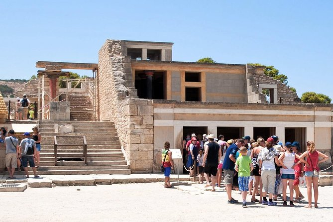 Palace of Knossos: Pre-booked e-Ticket and Audio Tour on Your Phone