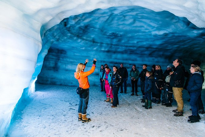 Into the Glacier Ice Cave Tour and Lava Cave Day Trip from Reykjavik