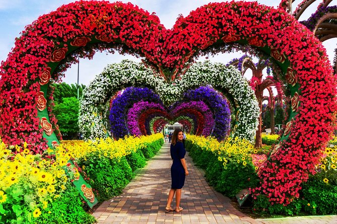 Dubai Miracle Garden and Global Village Shopping Tour