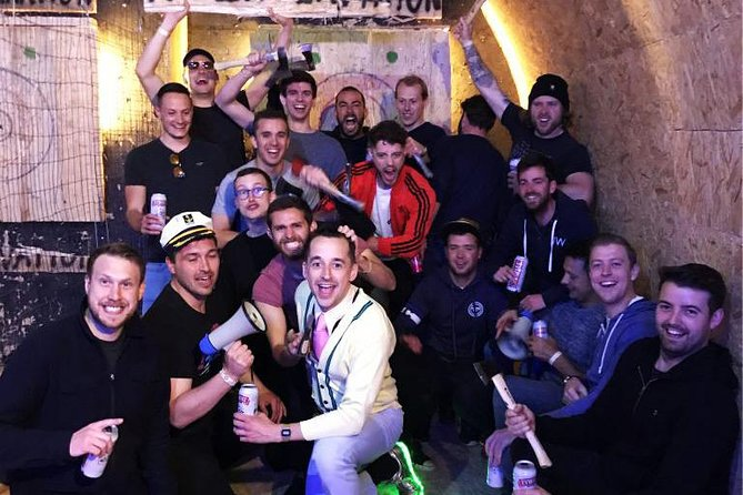 Axe Throwing with Hotel Transfers
