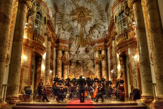 Mozart Requiem at Vienna St. Charles Church at his hour of death (4th Dez) photo 1