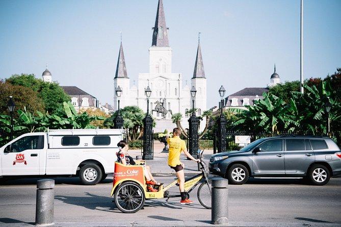 Private French Quarter Pedicab Tour