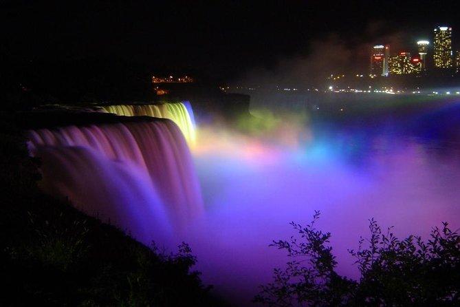 Light Show Niagara Falls