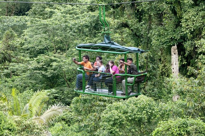 Aerial Tram in Braulio Carrillo National Park From San José