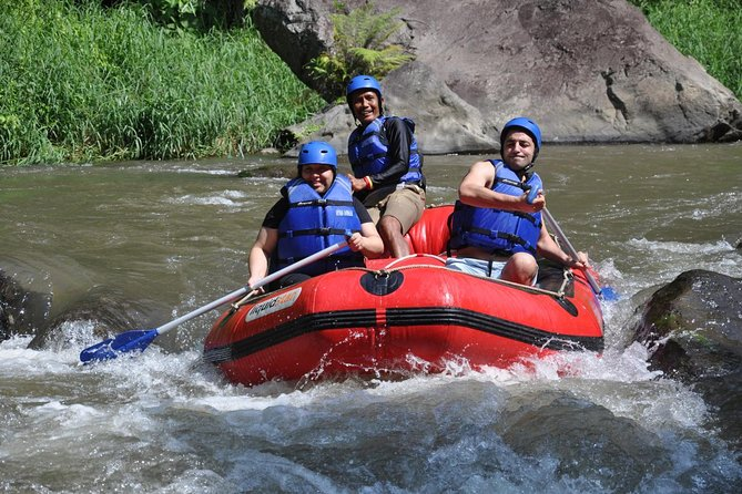 Amazing Telaga Waja White River Adventure Rafting-Private Hotel Transfer-Lunch