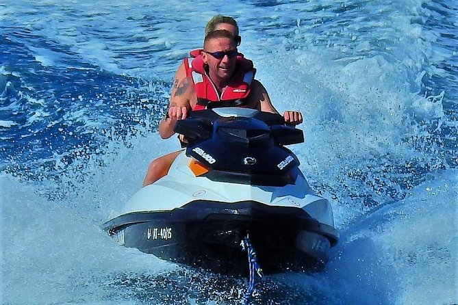 Jet Ski in Benidorm (Spain).