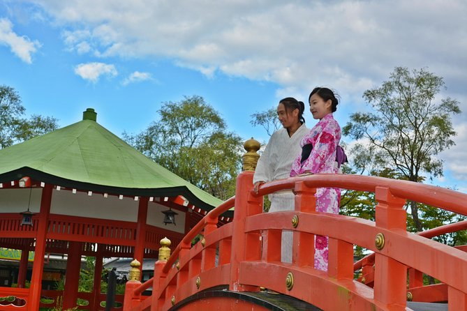 Noboribetsu Date Jidaimura Admission Ticket with Dress-Up Photo Shoot & Snack