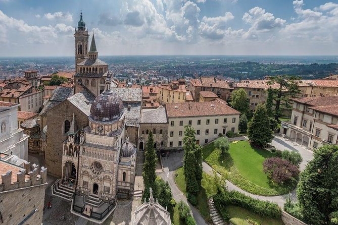 Bergamo private guided tour, the medieval town, the Colleoni's mausoleum