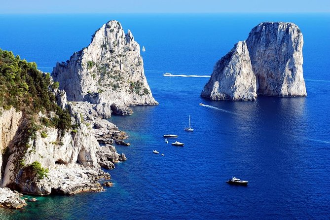 Private Day trip from Rome to Capri with Personal Guide