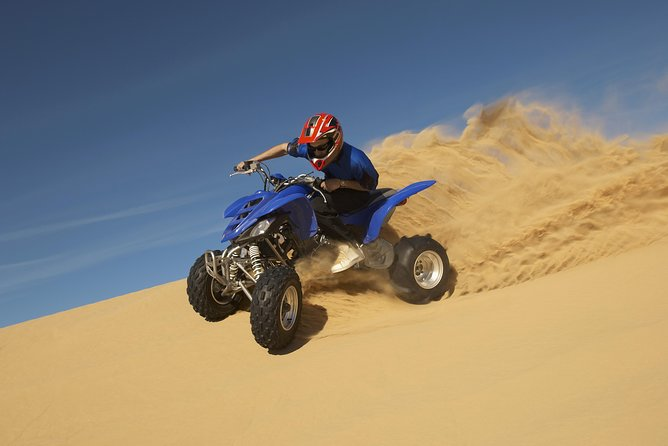 Red Dunes by Quad Bike, Camel Ride, Sandboarding and BBQ