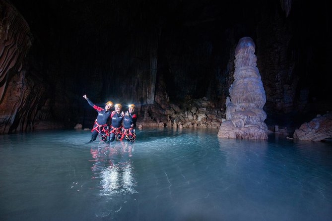 Small-Group Cova de Coloms Sea Caving Tour in Mallorca